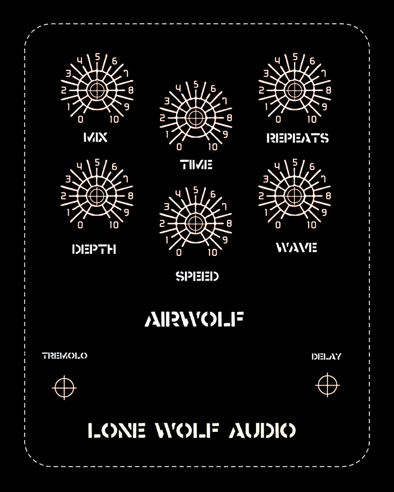 Image of Airwolf optical tremolo delay