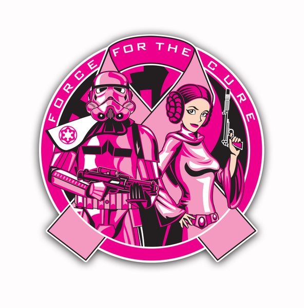 Image of Force For The Cure Logo Patch