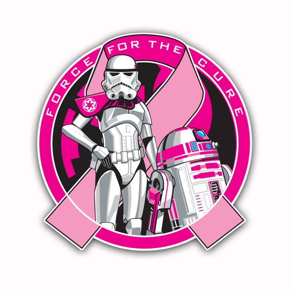 Image of Force For The Cure R2KT & Female Trooper Patch