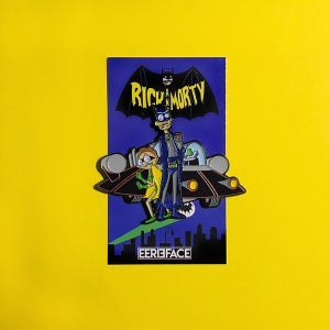 "Image of Rickman & Mort Pin- 2.5"""