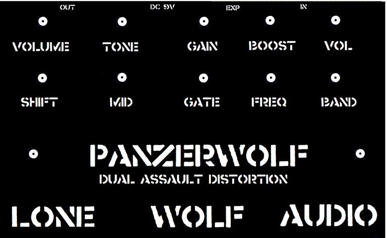 Image of Panzerwolf Distortion pre order