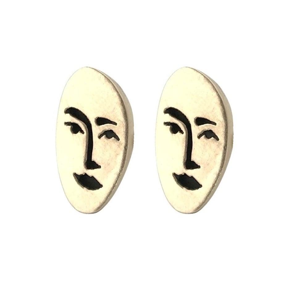 Image of Face Earrings