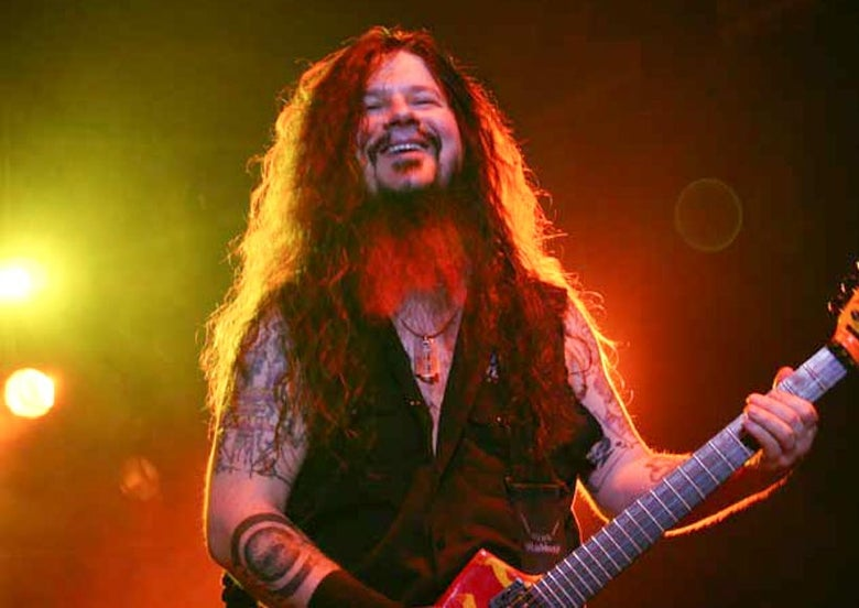Image of Dimebag Darrell Canvas Gallery Wrap