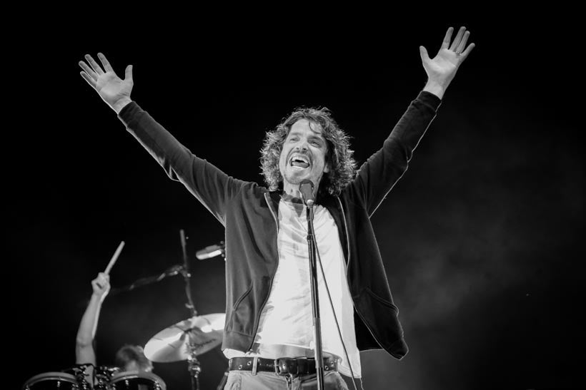 Image of Chris Cornell canvas gallery wraps