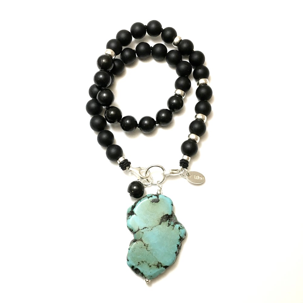 Image of New! Guidance Turquoise Howlite