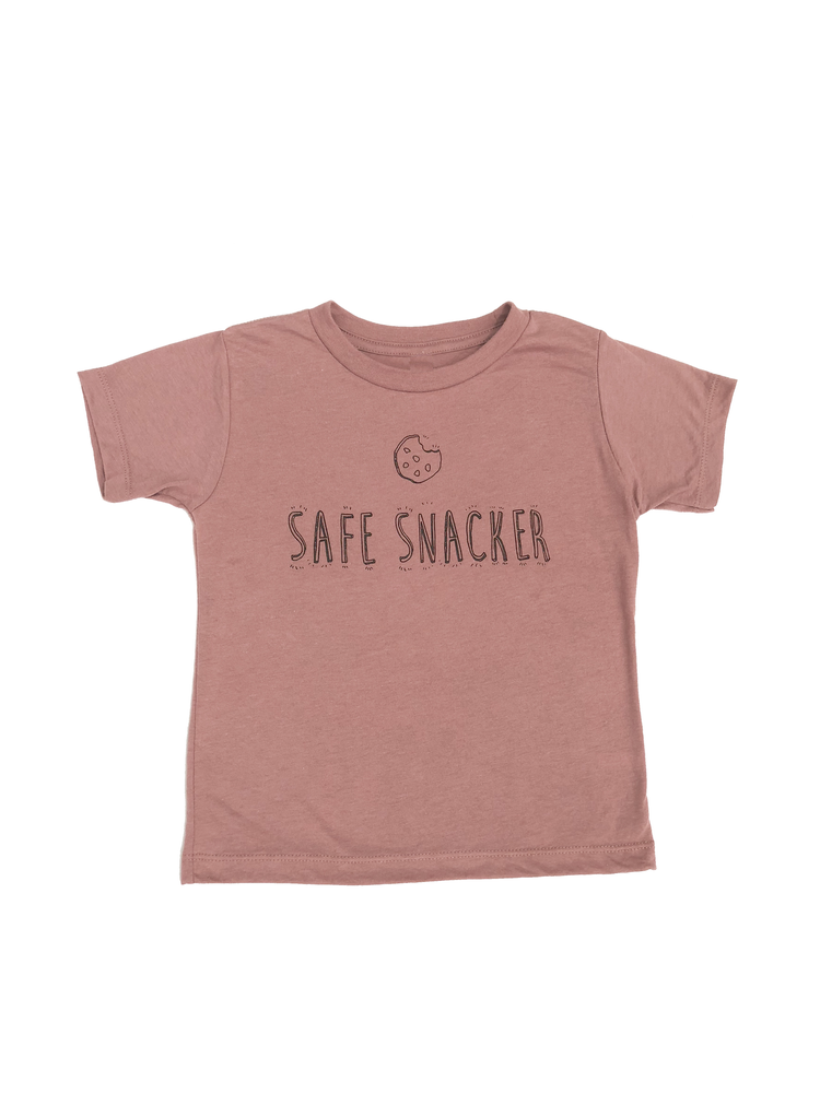 Image of Mauve Safe Snacker Tee