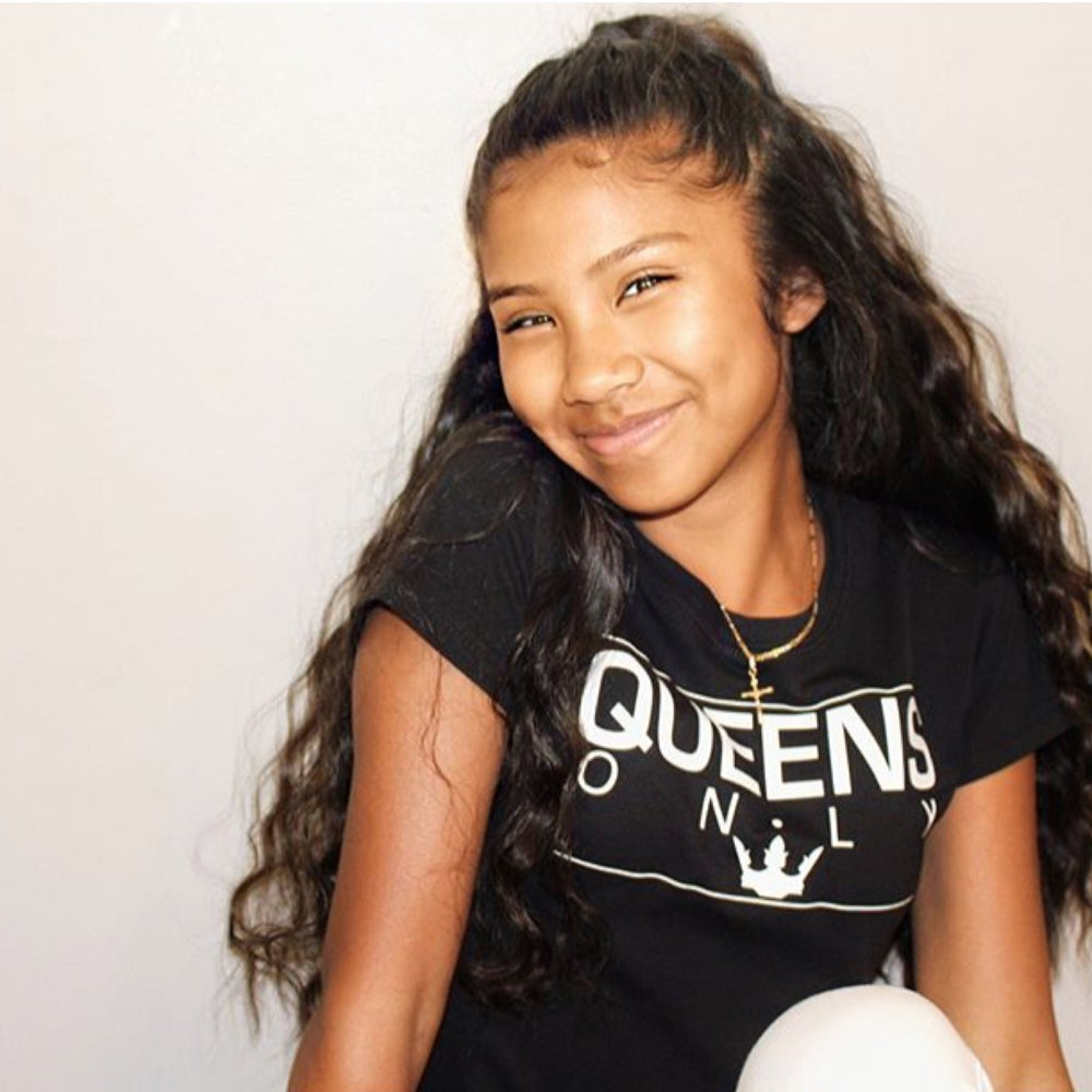"""Image of """"QUEENS ONLY"""" black - Tee Shirt"""