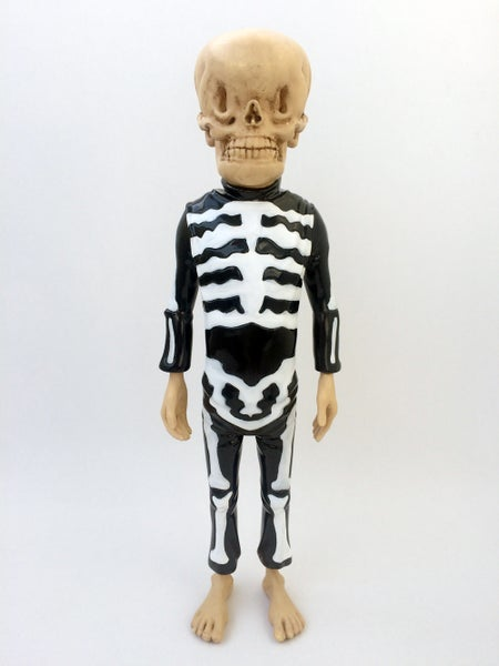 Image of Bone Trotters Art Figure Black and White Edition by Matt Gordon