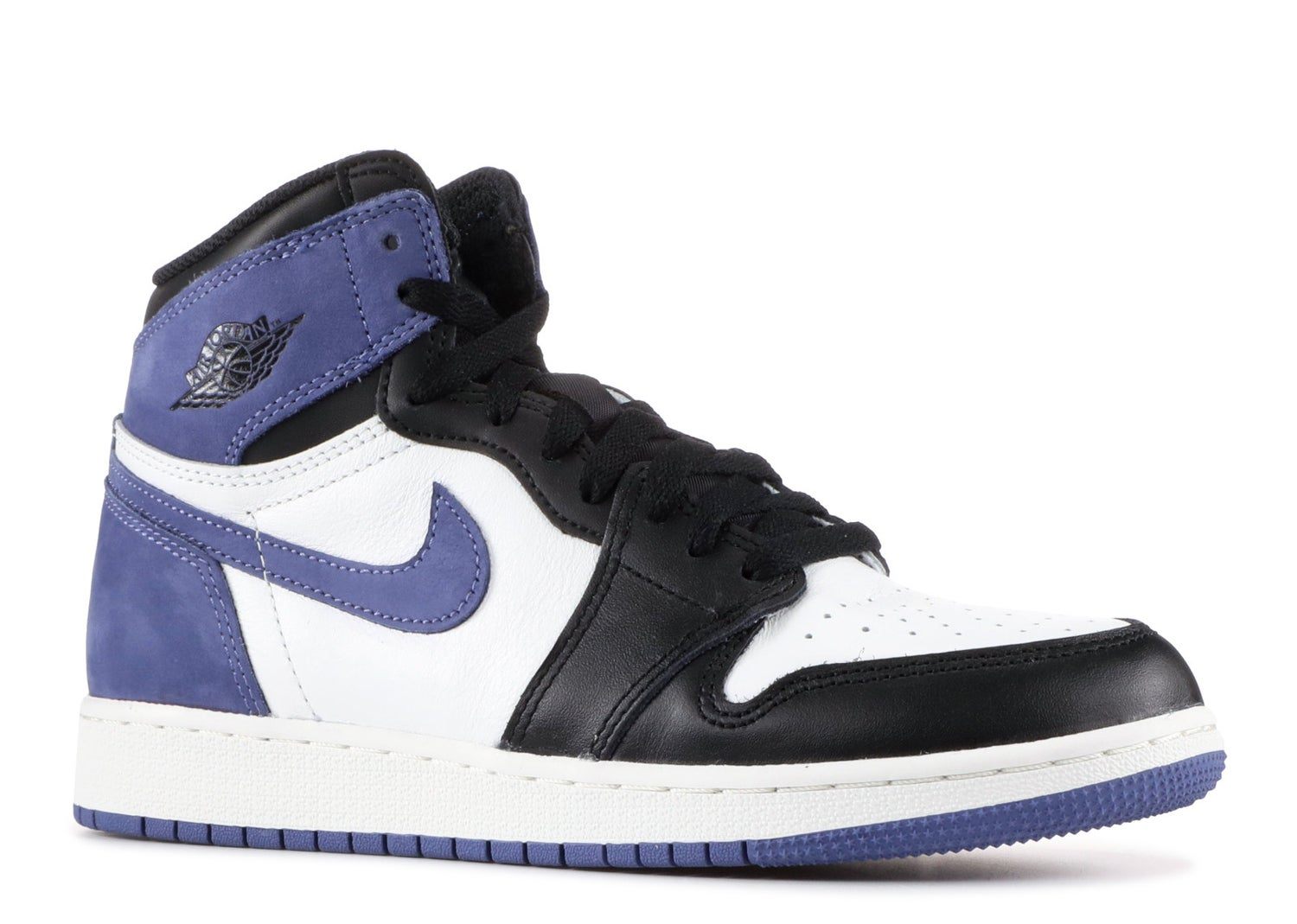"Image of Nike Retro Air Jordan 1 ""Blue Moon"" Mens"