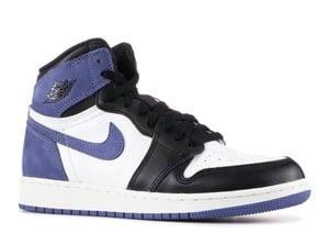 "Image of Nike Retro Air Jordan 1 ""Blue Moon"" Mens"