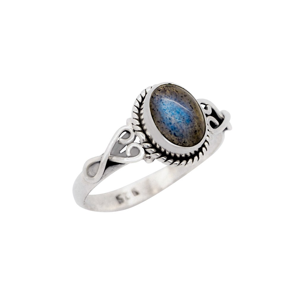Image of Sterling Silver & Labradorite Lilith Ring