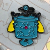 Image of LITTLE MISS PRESSURE POT enamel pin by UME Toys