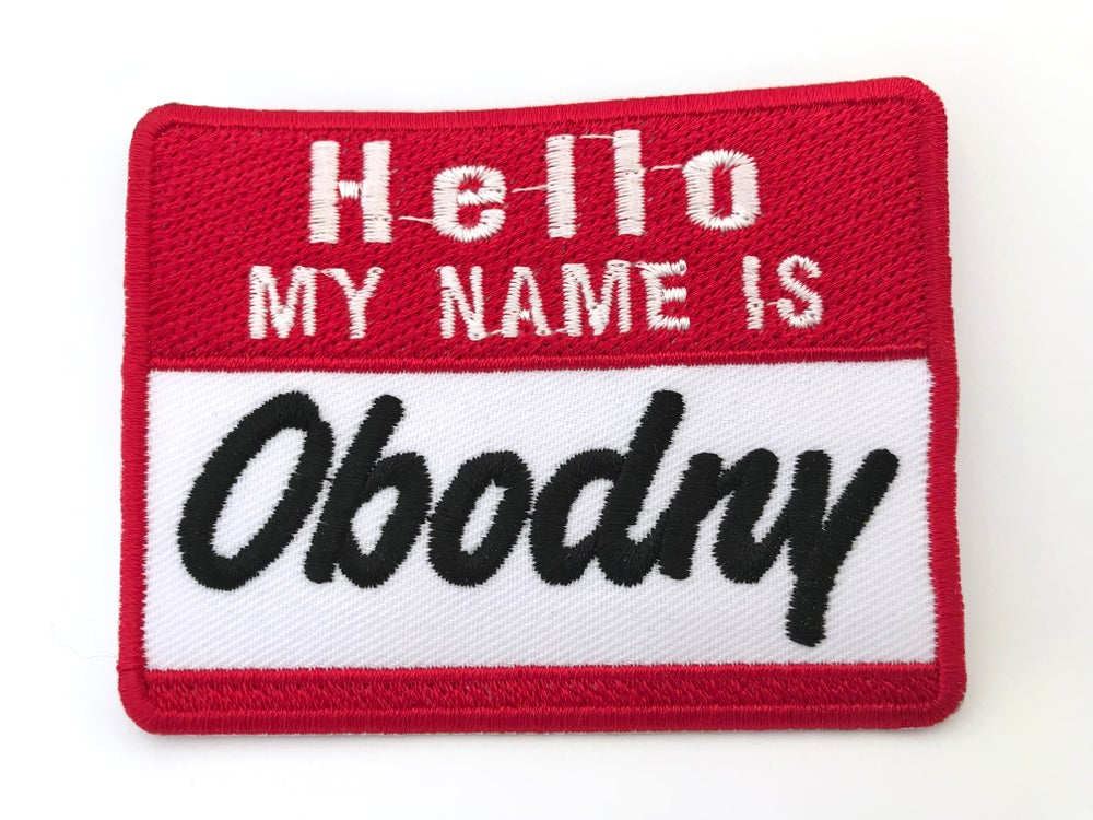 Image of HELLO MY NAME IS OBODNY
