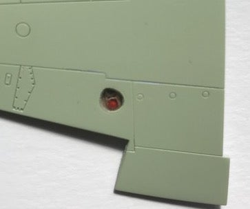 Image of Sea Fury Gunsight and Navigation Lights