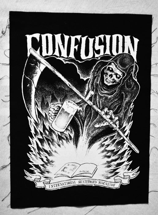 Image of GRIM REAPER - Confusion back patch