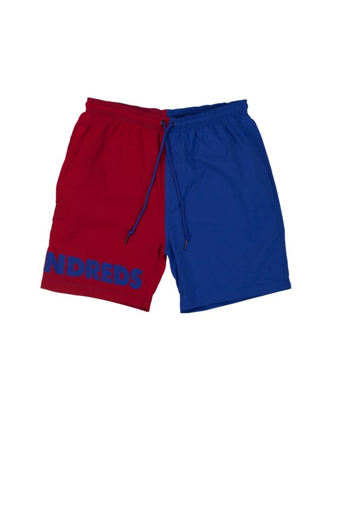 Image of THE HUNDREDS - BLOCK SHORTS (RED)