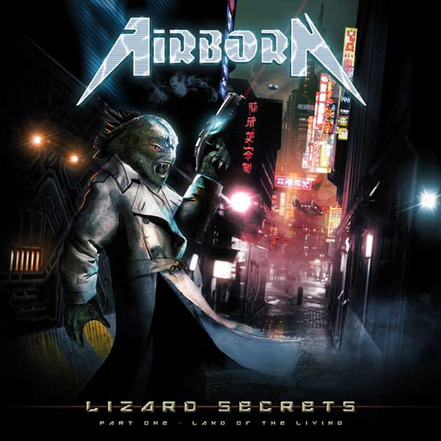 Image of Airborn - Lizard Secrets Part One - Land Of The Living