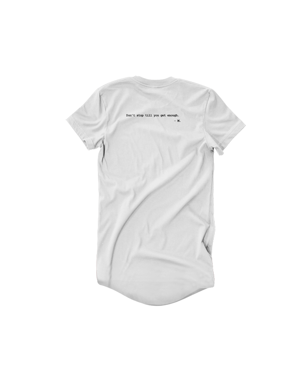 Image of SBNHS MJ Long Tee - White
