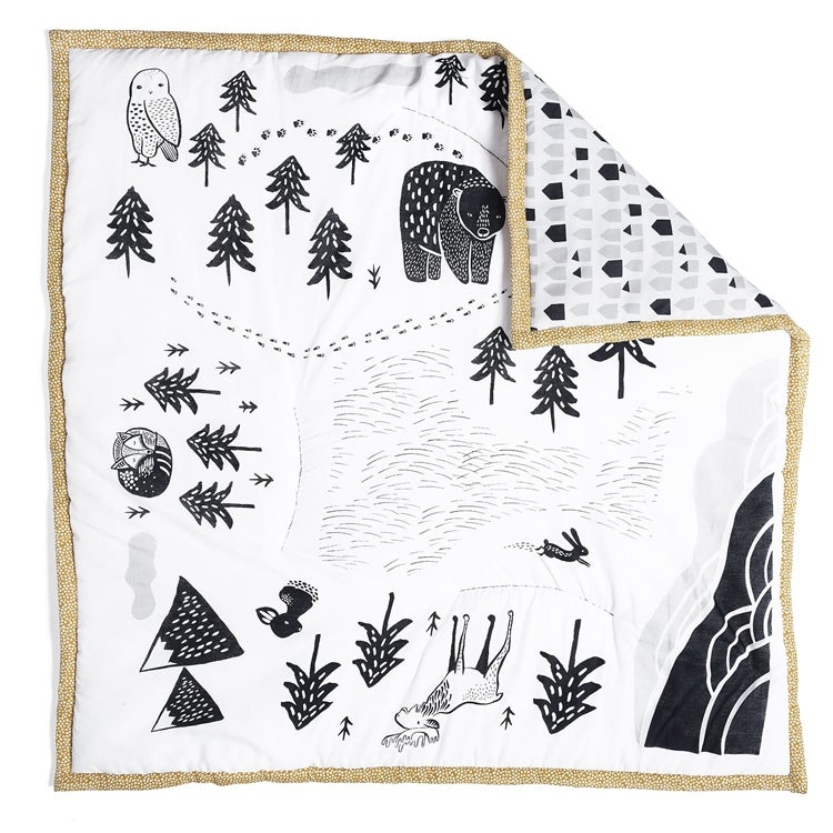 Image of Wee Gallery Woodland Playmat