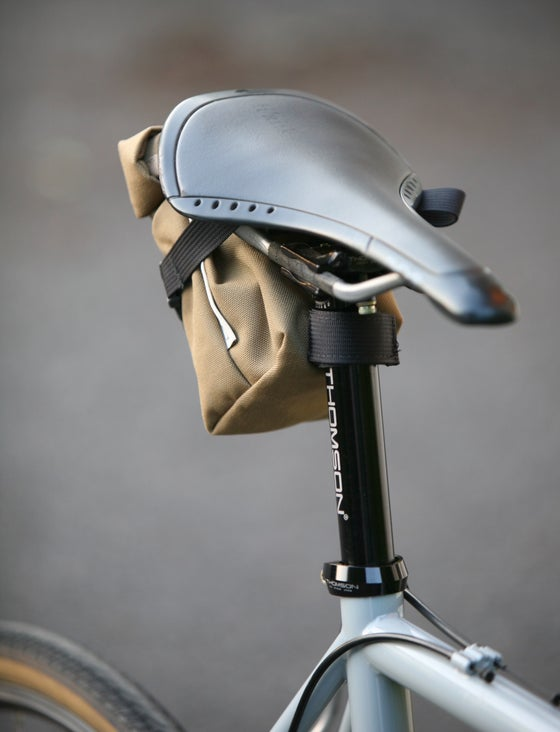 Image of Outer Shell Rolltop Saddlebag