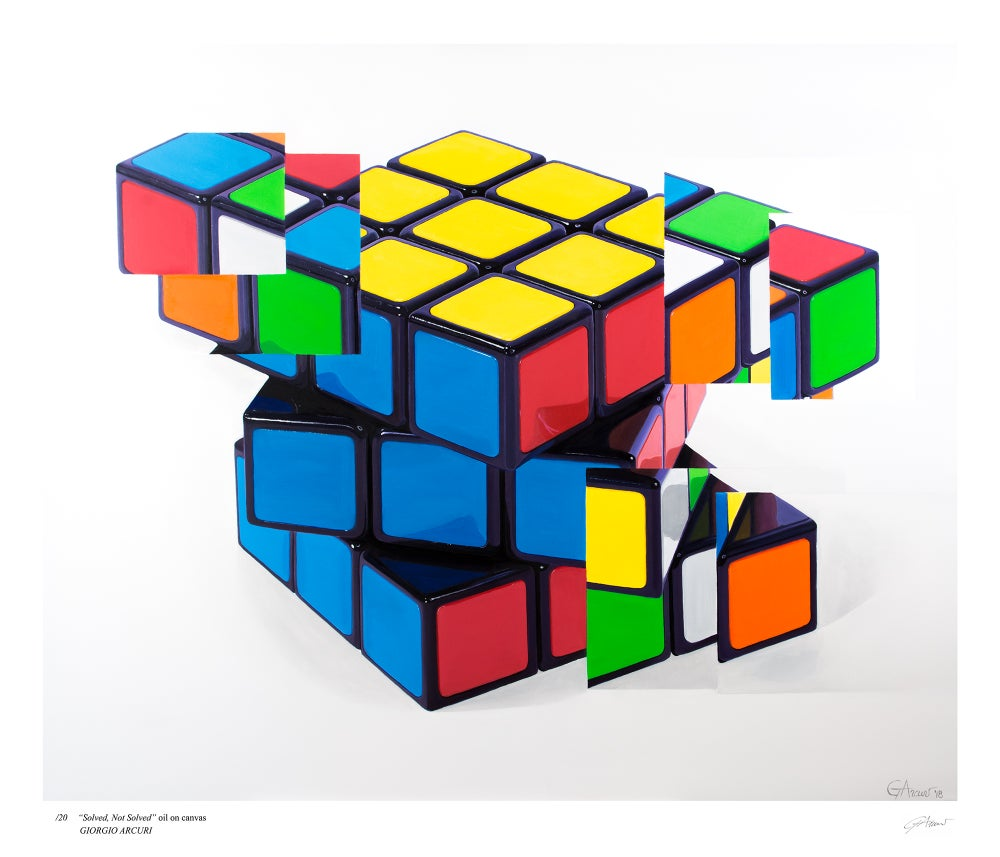 "Image of ""Solved, Not Solved"" - Limited Edition Print"