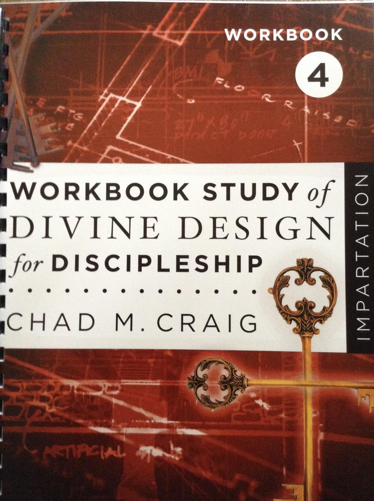 Image of Workbook Study of Divine Design for Discipleship - IMPARTATION 4