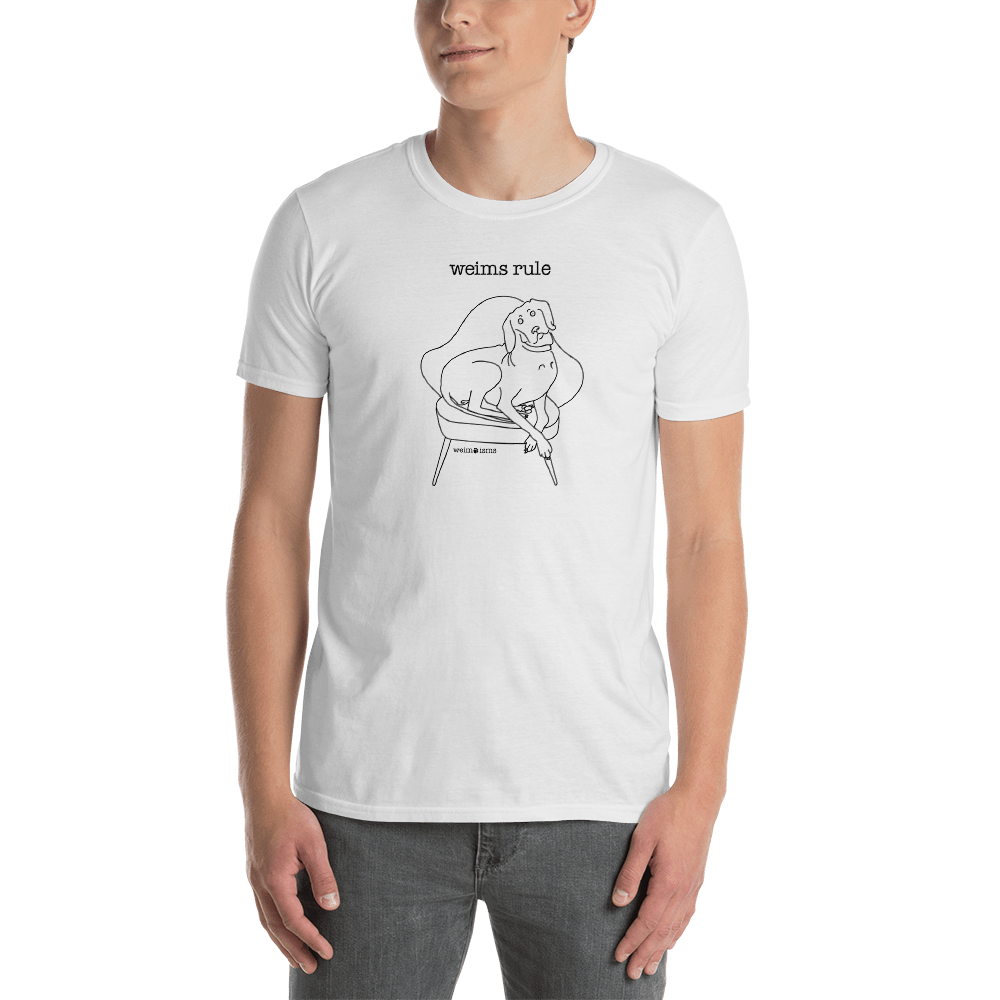 Image of Weims Rule - Unisex T-Shirt
