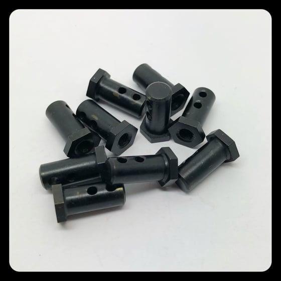 Image of MODEL 1 - LONG BACK BINDER BLACK