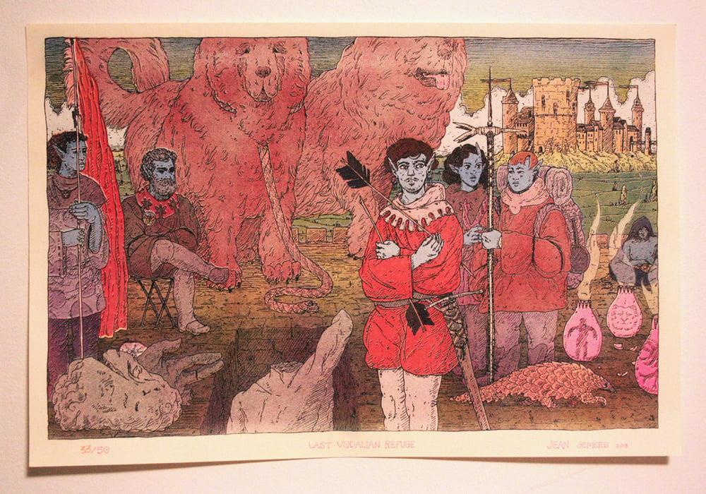 Image of print - Last Vodalian Refuge