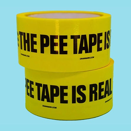 Image of The Pee Tape is Real Tape