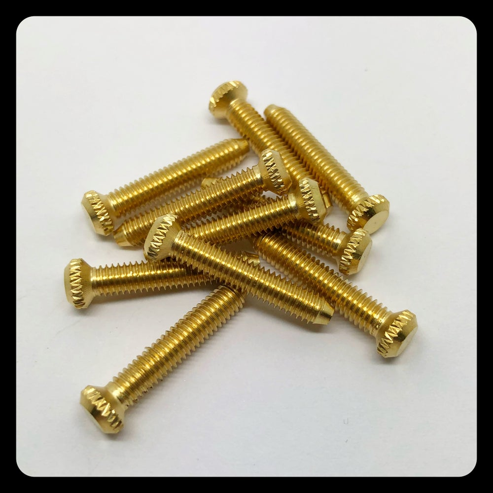 Image of BRASS CONTACT SCREW M4x25