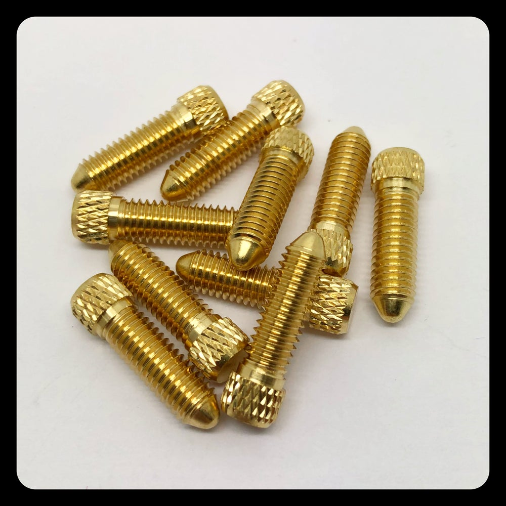 Image of BRASS CONTACT SCREW M5 - SHORT