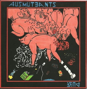 "Image of Ausmuteants / PUFF split 7"" (Static Age)"