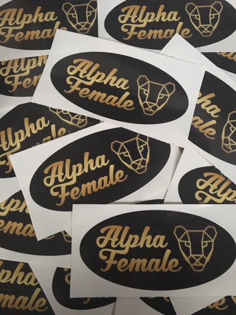 Image of Alpha Female Decals
