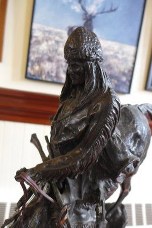 Image of Mountain Man by Frederic Remington