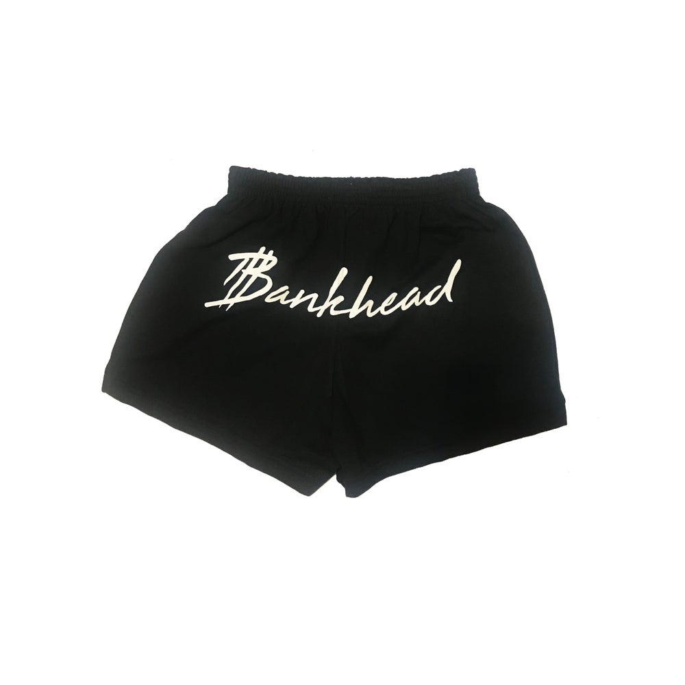 Image of BLACK/WHITE twerk shorts