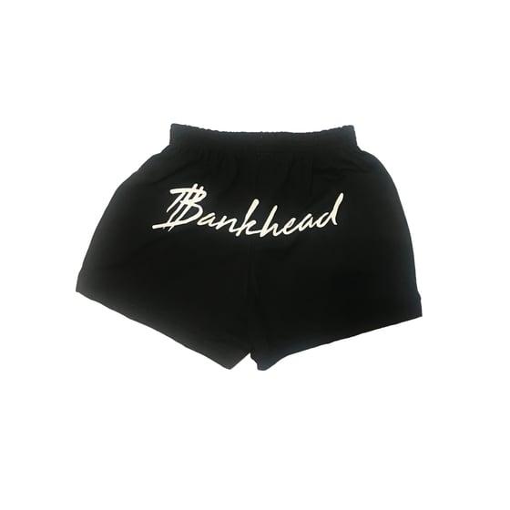 Image of BLACK/WHITE twerk shorts