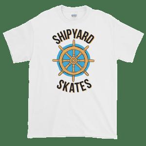Image of Shipyard Skates Wheel Tee