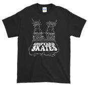 Image of SHIPYARD SKATES Hand Screened Tee