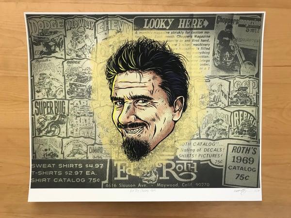 "Image of Ed ""Big Daddy"" Roth Giclee Print"