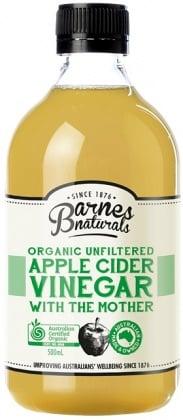 Image of Barnes Naturals Apple Cider Vinegar (ACV) 500 ml