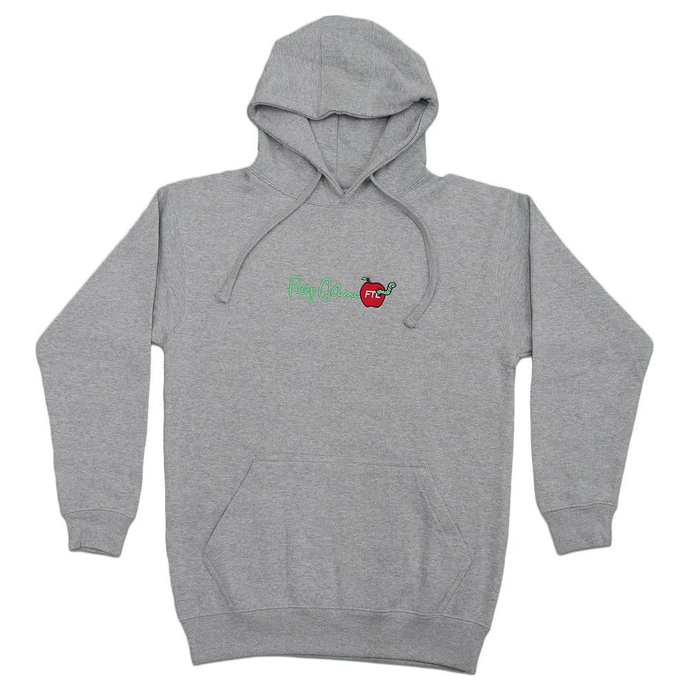 Image of FTL X Peep Game Hoodie (Grey)