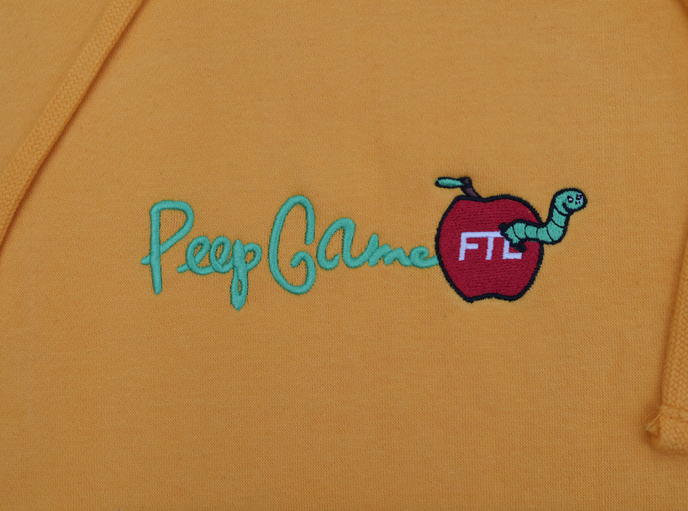 Image of FTL X Peep Game Hoodie (Gold)