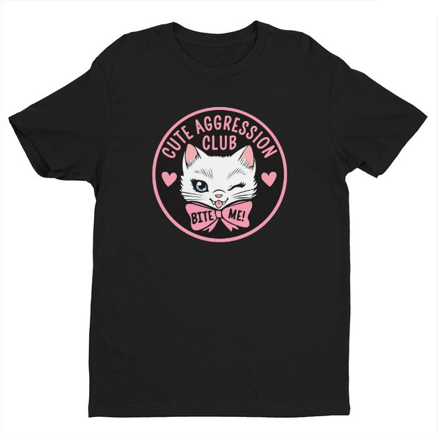 Image of CUTE AGGRESSION CLUB SHIRT & TANK TOP PRE-ORDER
