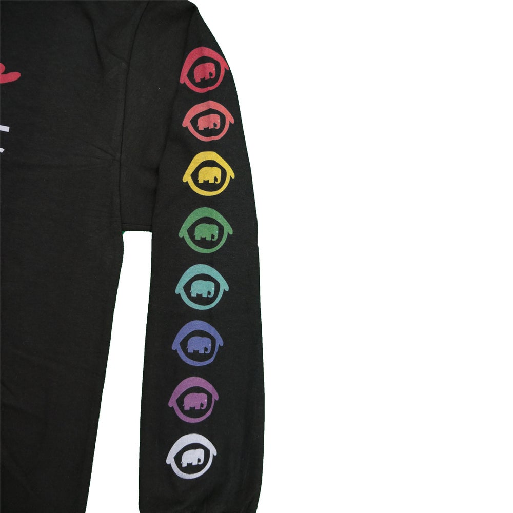 Image of FTL X Peep Game Long Sleeve (Black)