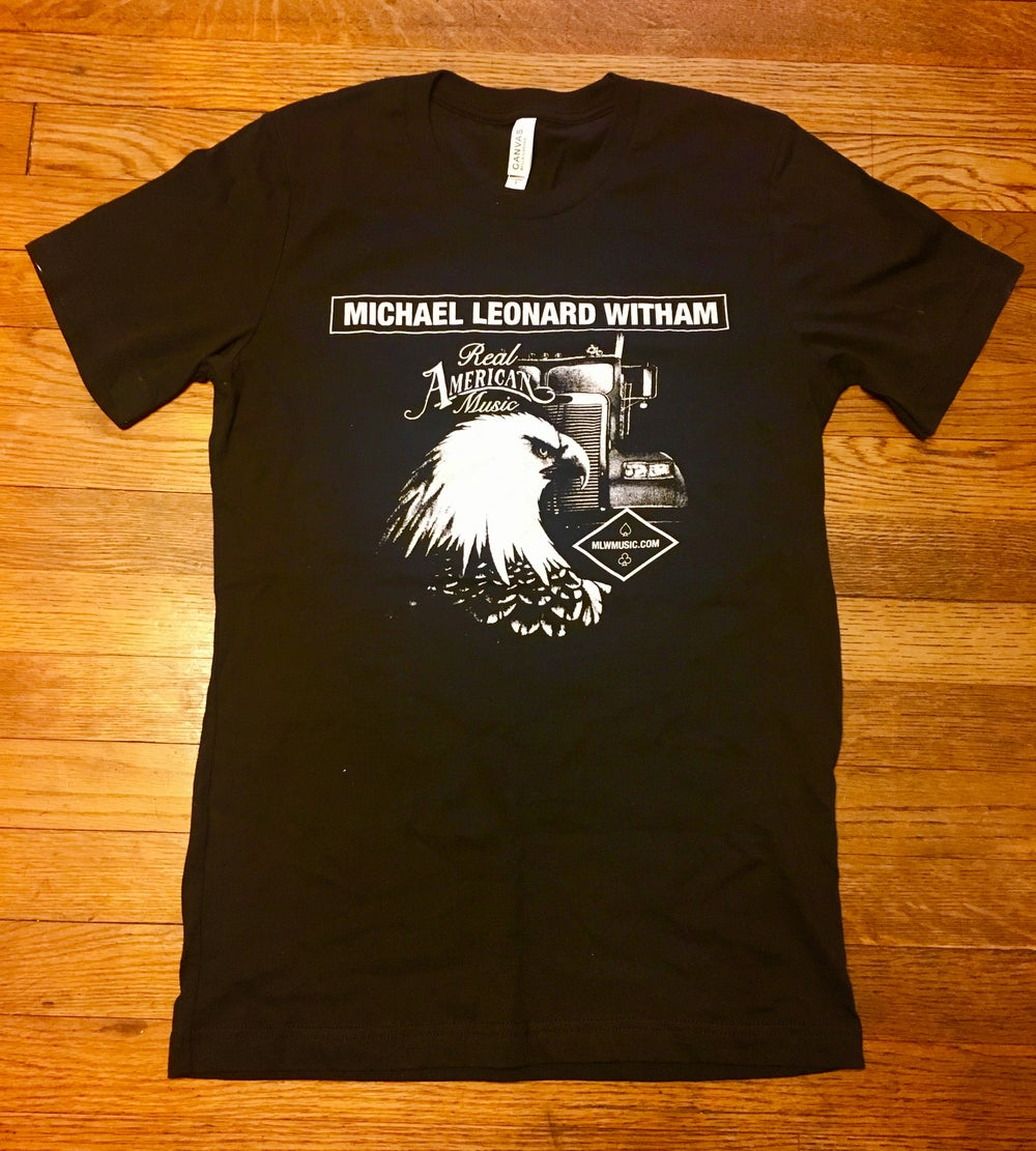 Image of Eagle & Truck T Shirt