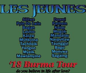Image of Burma Tour Tee