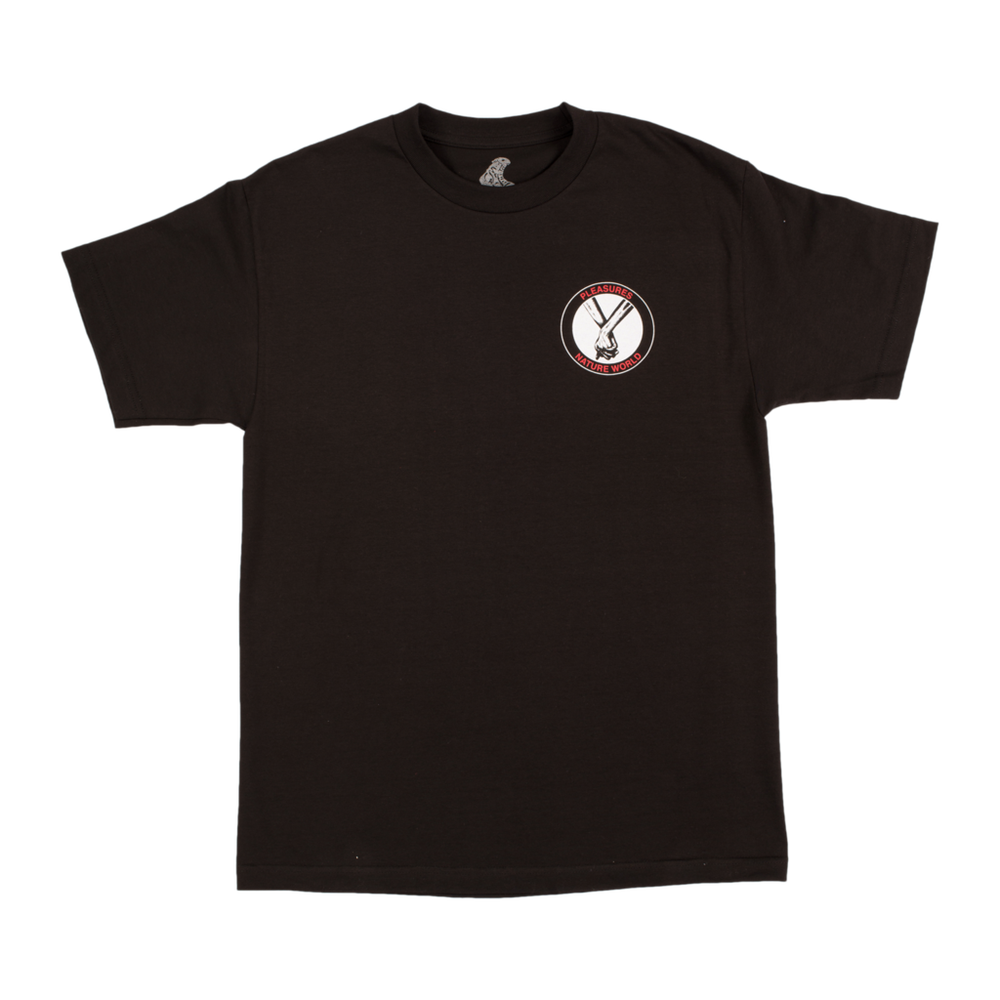 Image of PLEASURES - FRIENDSHIP TEE (BLACK)