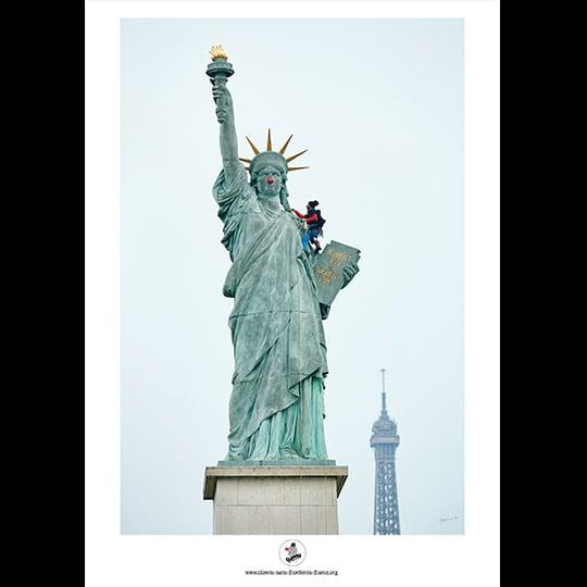 """Image of Affiche """"Statue de la liberté"""""""