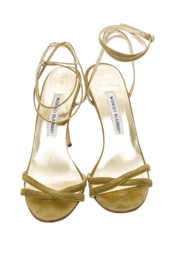 Image of Vintage Manolo Blahnik Sandals